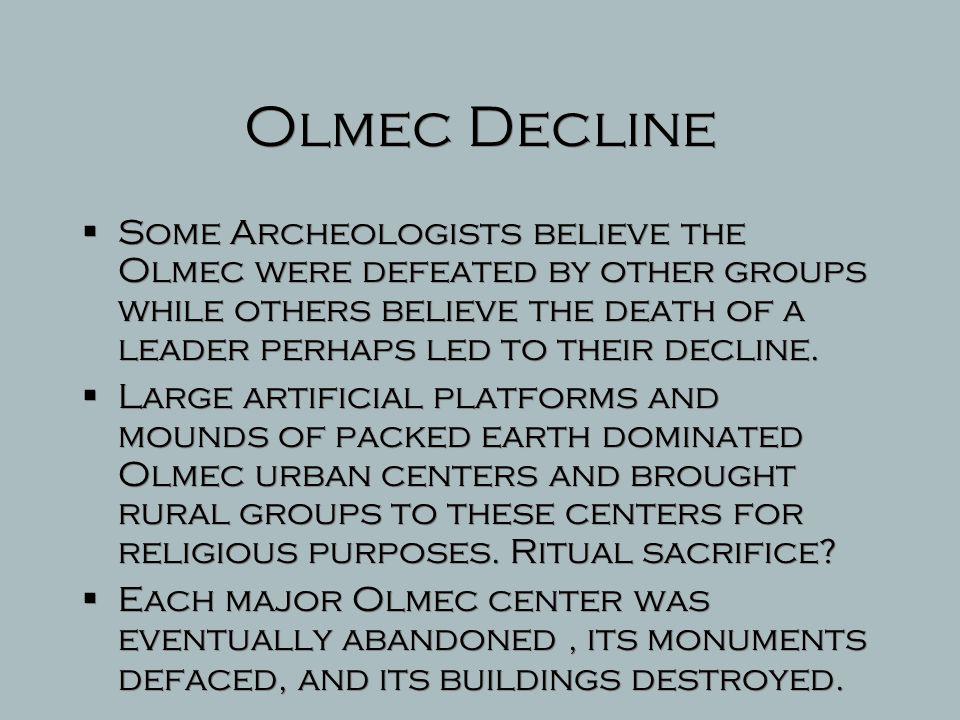 Olmec Decline