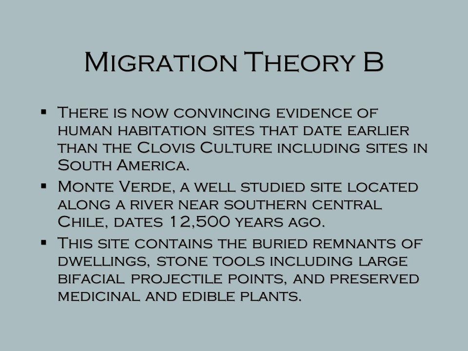 Migration Theory B