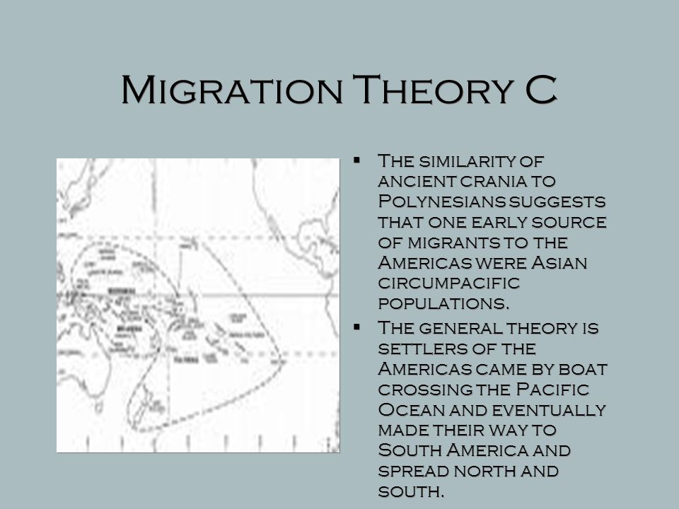 Migration Theory C