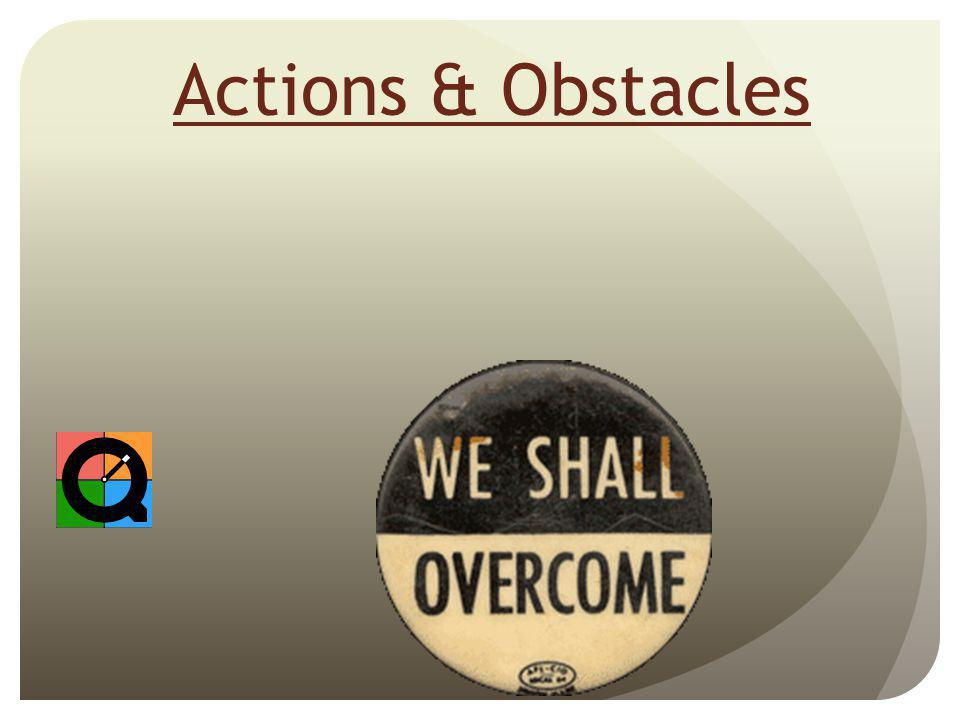 Actions & Obstacles