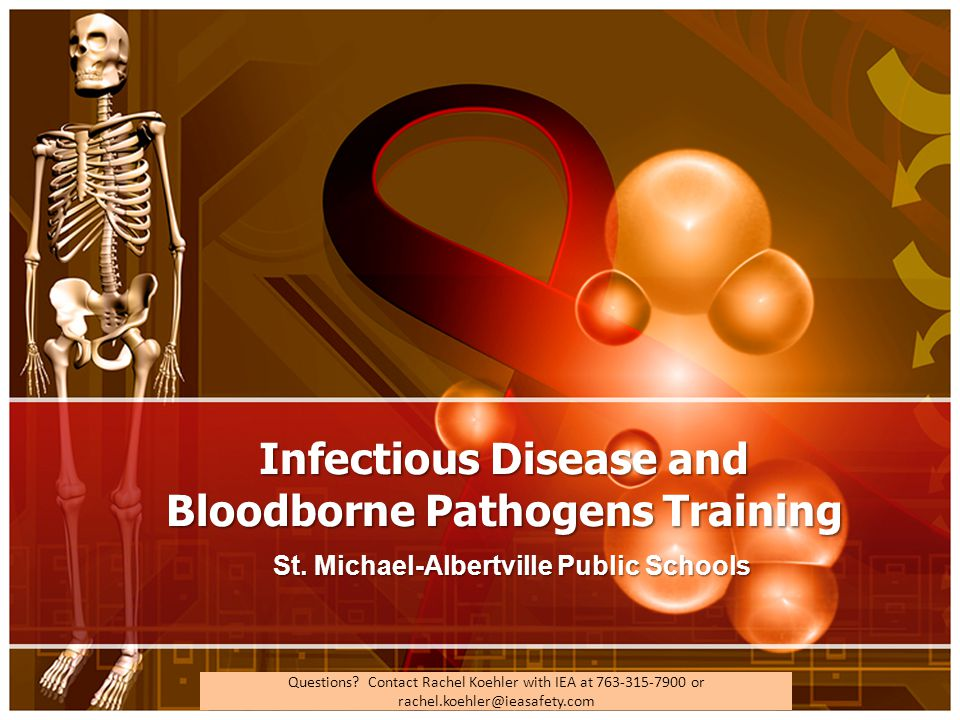 Infectious Disease and Bloodborne Pathogens Training