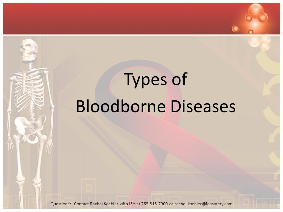 Types of Bloodborne Diseases