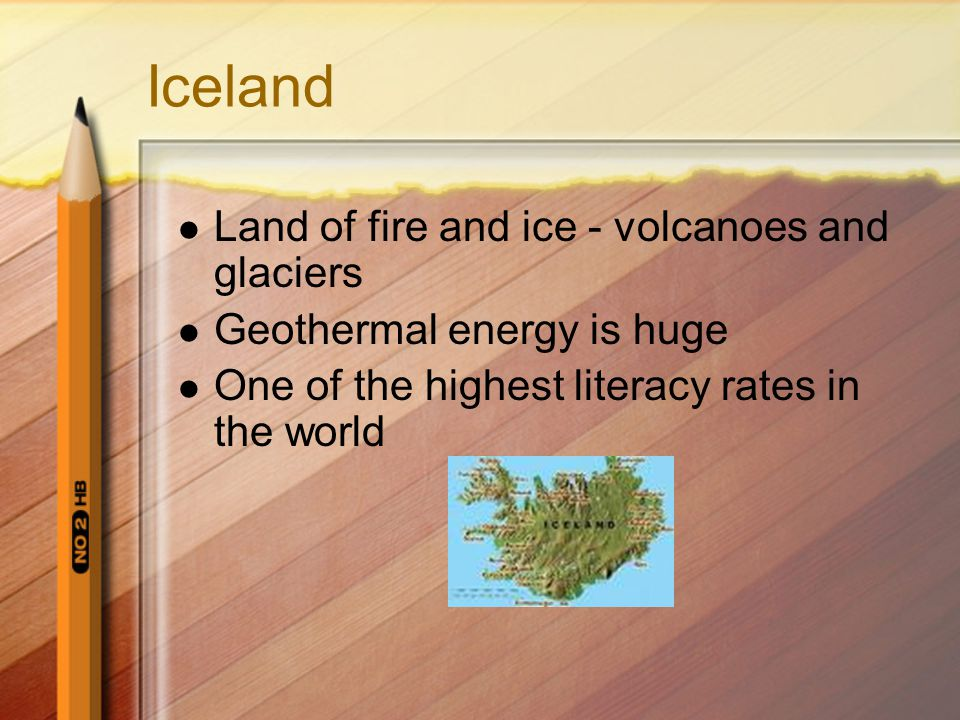 Iceland Land of fire and ice - volcanoes and glaciers