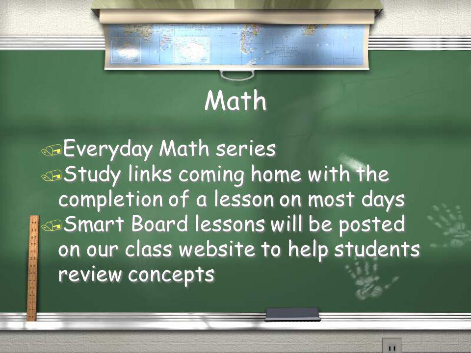 Math Everyday Math series