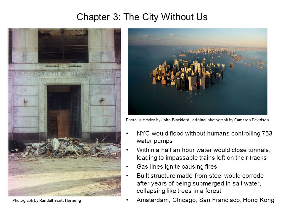 Chapter 3: The City Without Us