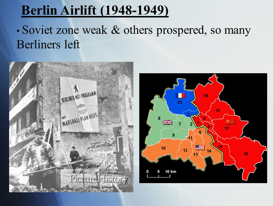 Berlin Airlift (1948-1949) Berliners left