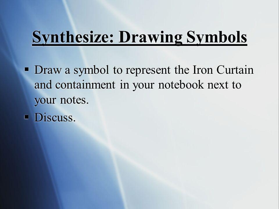 Synthesize: Drawing Symbols