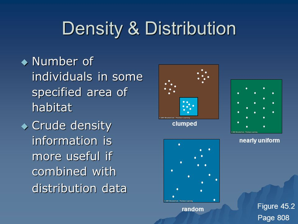 Density & Distribution