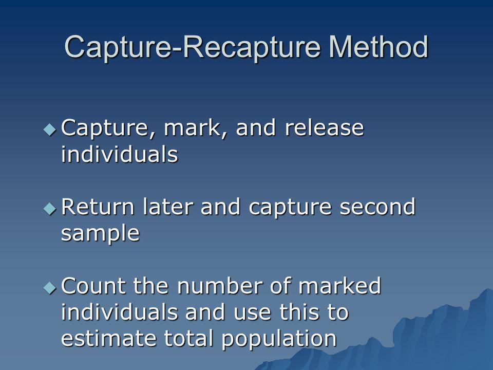 Capture-Recapture Method