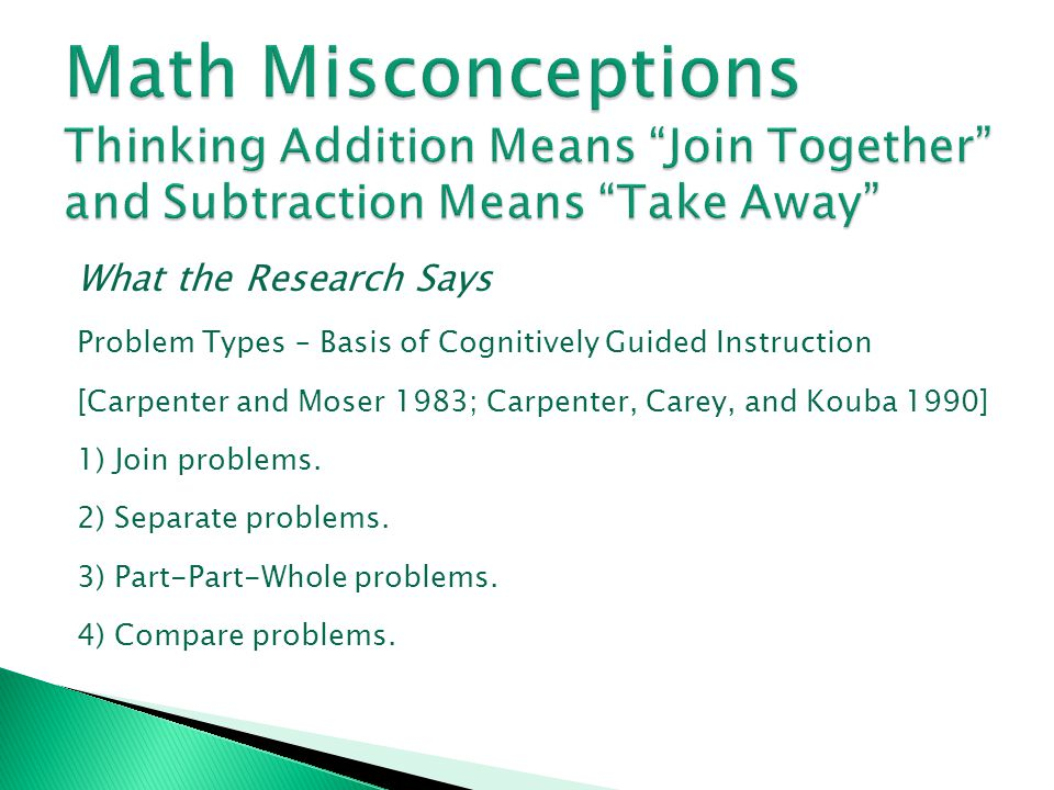 Maths Misconceptions: Multiplication