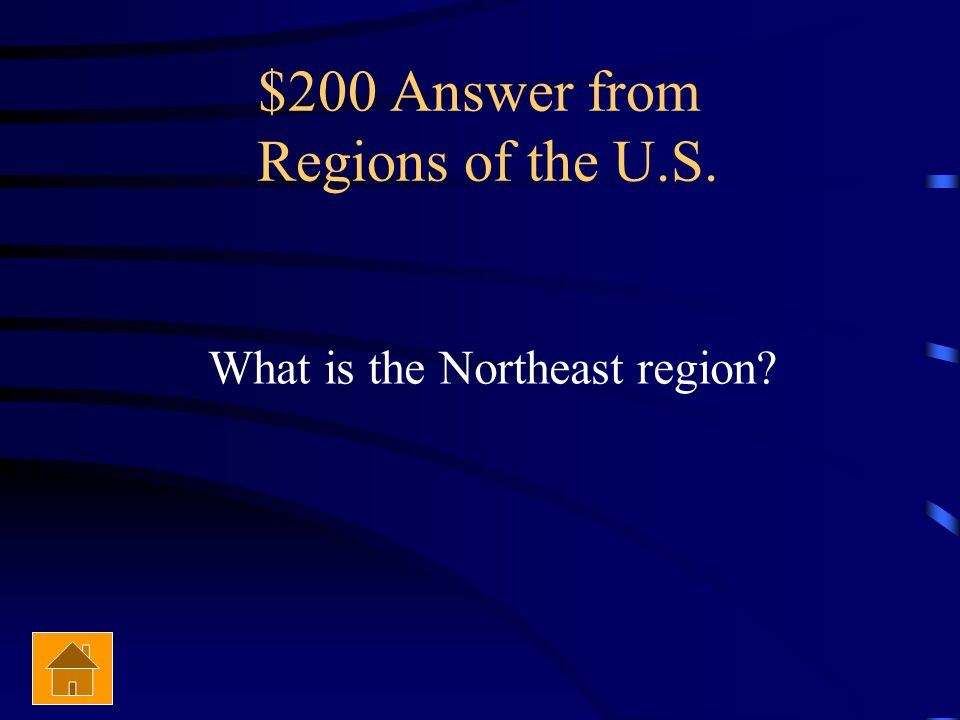 $200 Answer from Regions of the U.S.