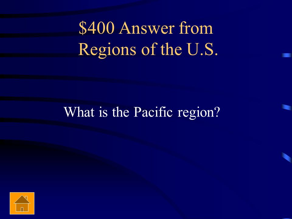 $400 Answer from Regions of the U.S.
