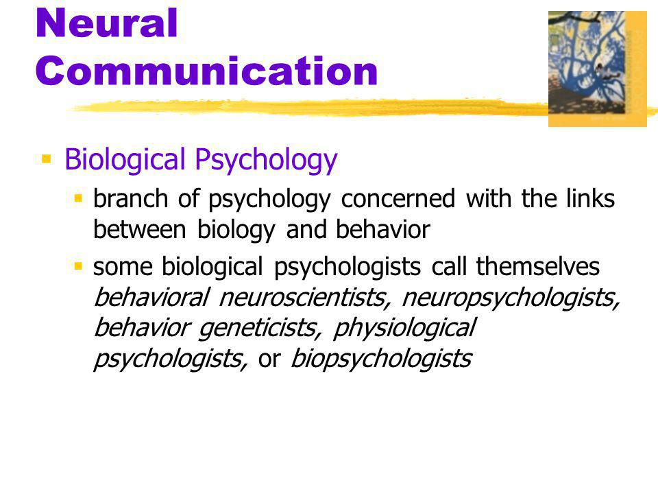 Neural Communication Biological Psychology
