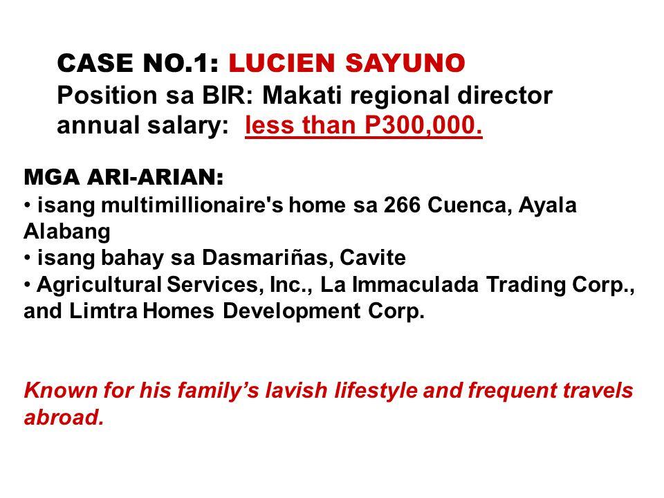 Position sa BIR: Makati regional director