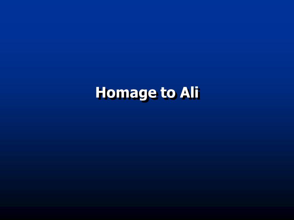 Homage to Ali