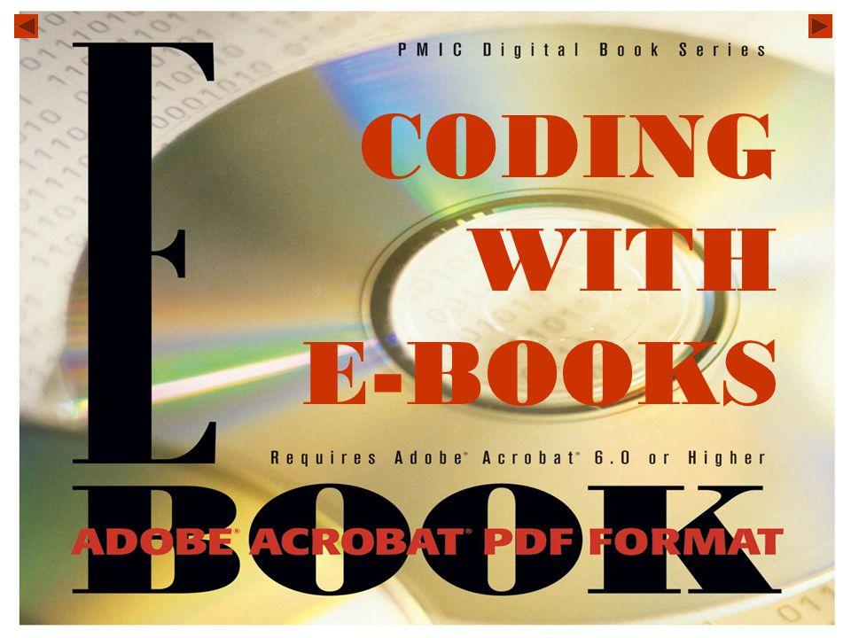 CODING WITH E-BOOKS