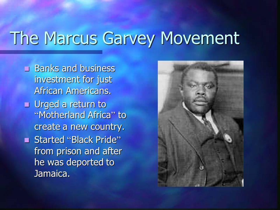 The Marcus Garvey Movement