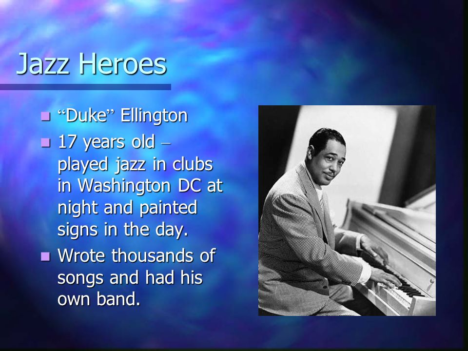 Jazz Heroes Duke Ellington