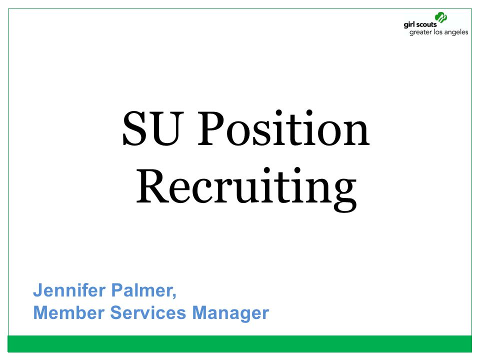 SU Position Recruiting