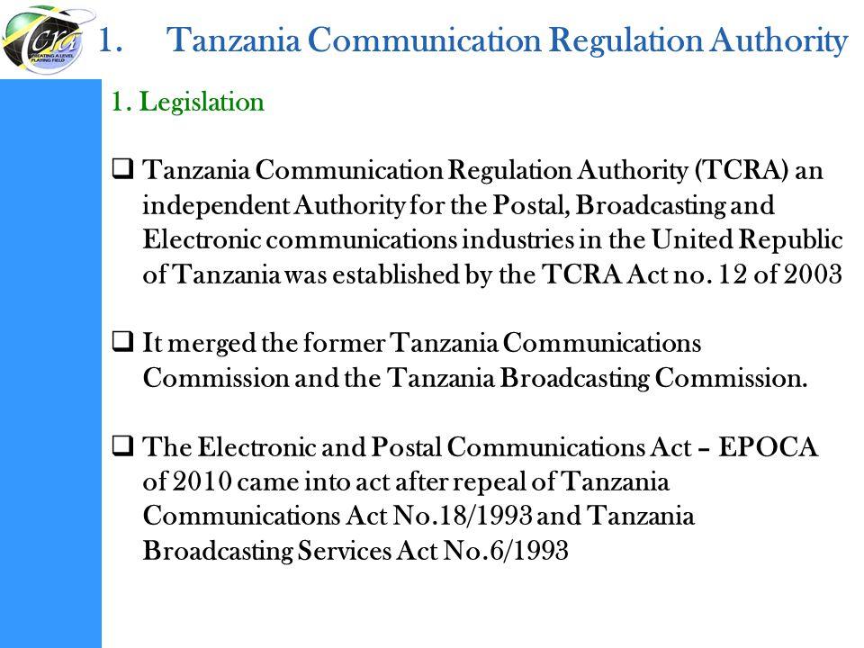 Tanzania Communication Regulation Authority