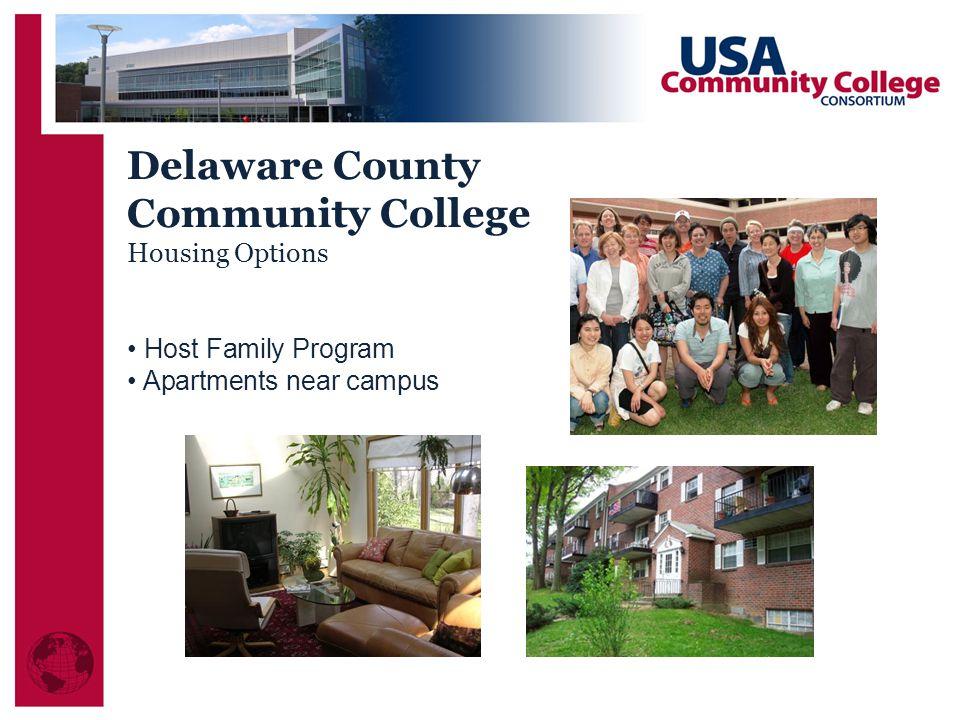 Delaware County Community College Housing Options Host Family Program