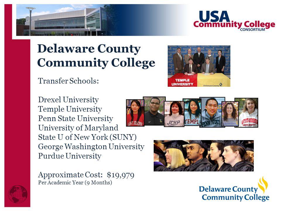 Delaware County Community College Transfer Schools: Drexel University