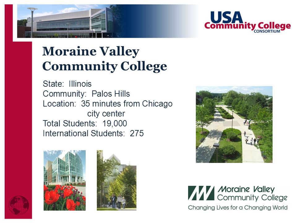 Moraine Valley Community College State: Illinois