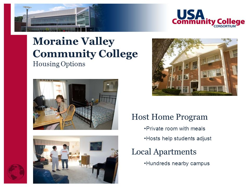 Moraine Valley Community College Host Home Program Local Apartments