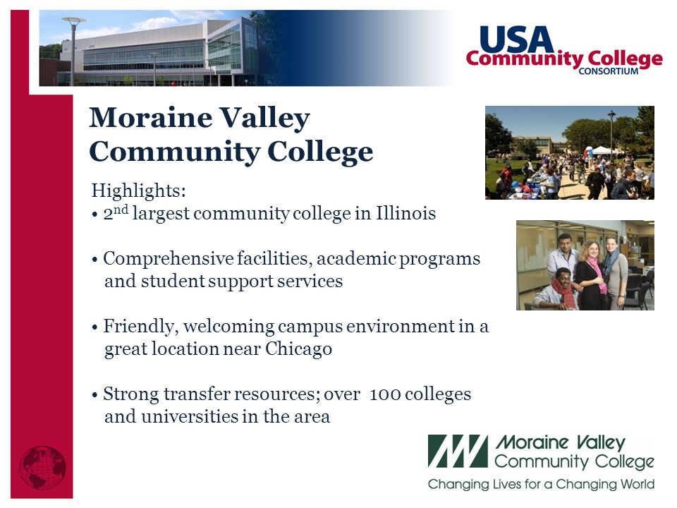 Moraine Valley Community College Highlights: