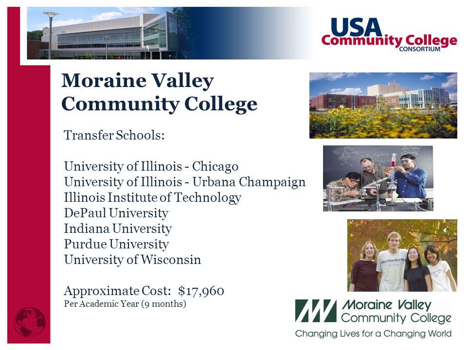Moraine Valley Community College Transfer Schools: