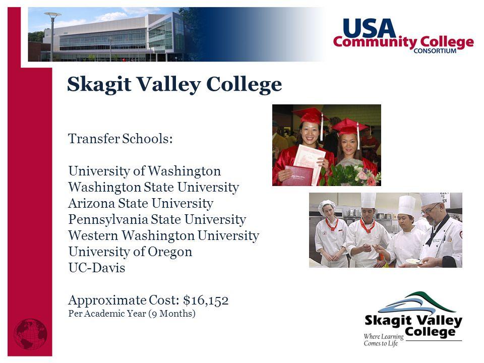 Skagit Valley College Transfer Schools: University of Washington