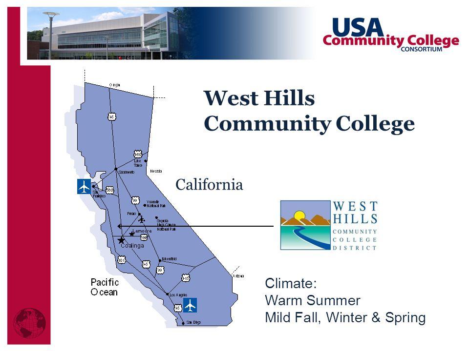 West Hills Community College California