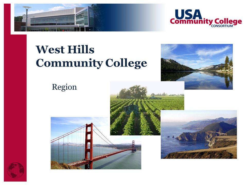 West Hills Community College Region