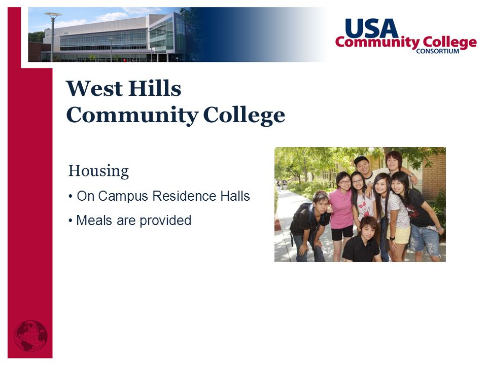 West Hills Community College Housing On Campus Residence Halls