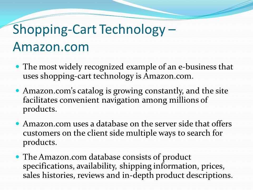 Shopping-Cart Technology – Amazon.com