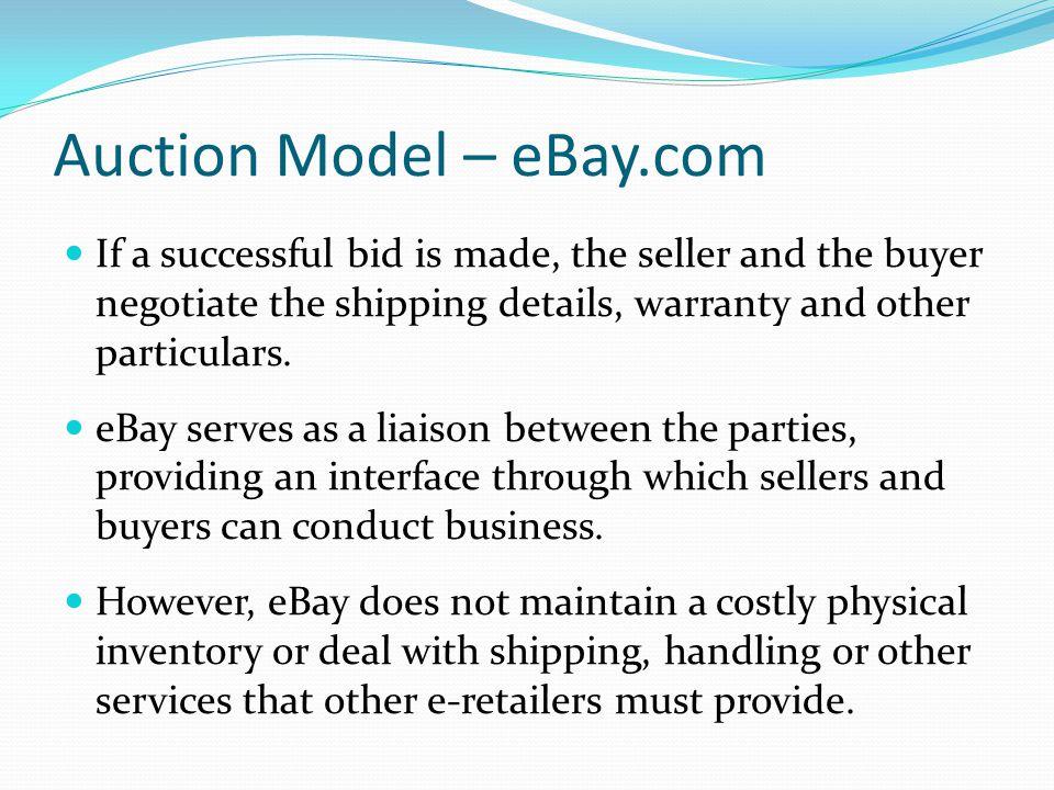 Auction Model – eBay.com