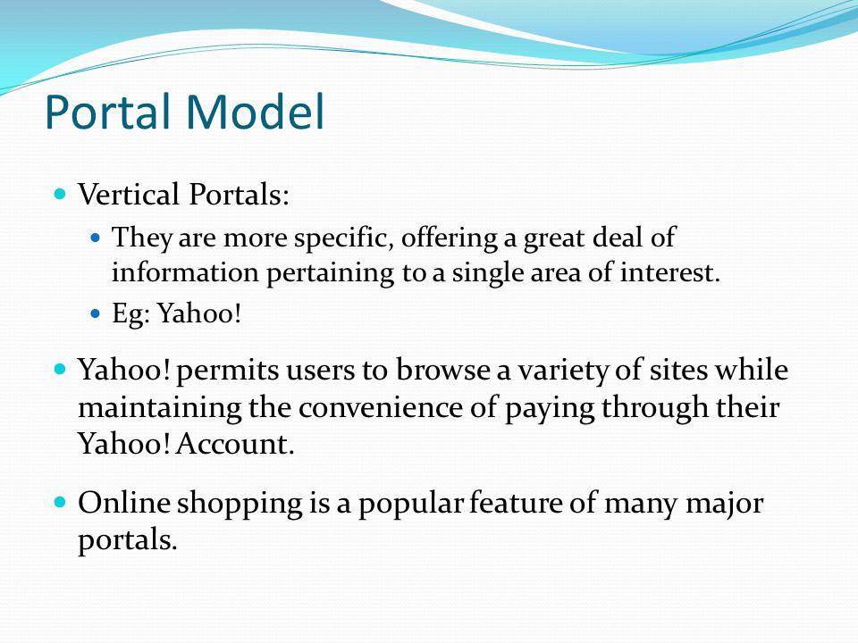 Portal Model Vertical Portals: