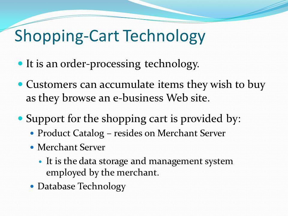Shopping-Cart Technology