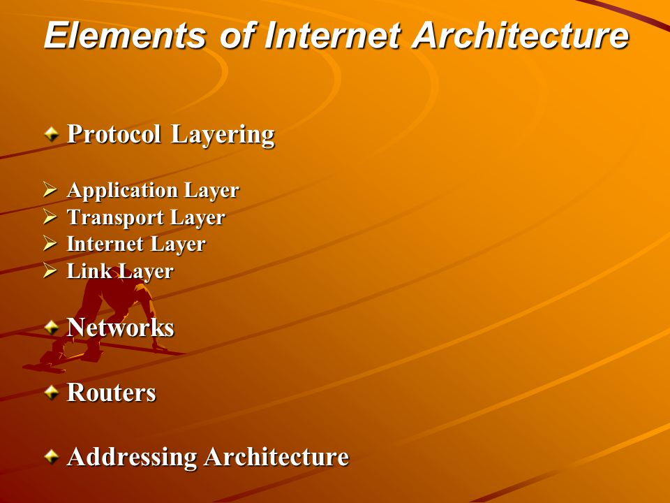 Elements of Internet Architecture