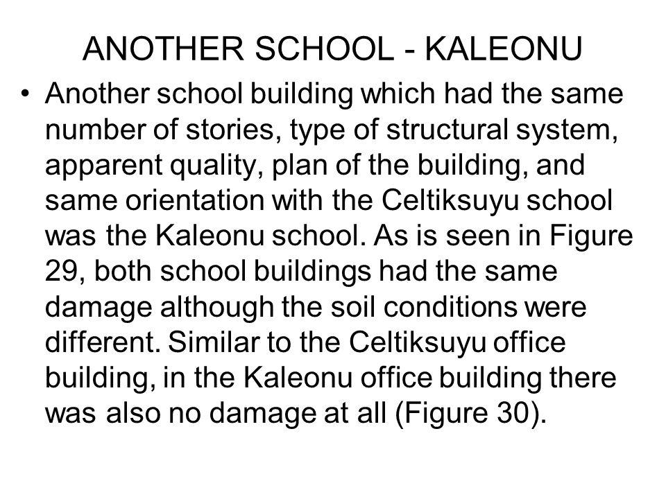 ANOTHER SCHOOL - KALEONU