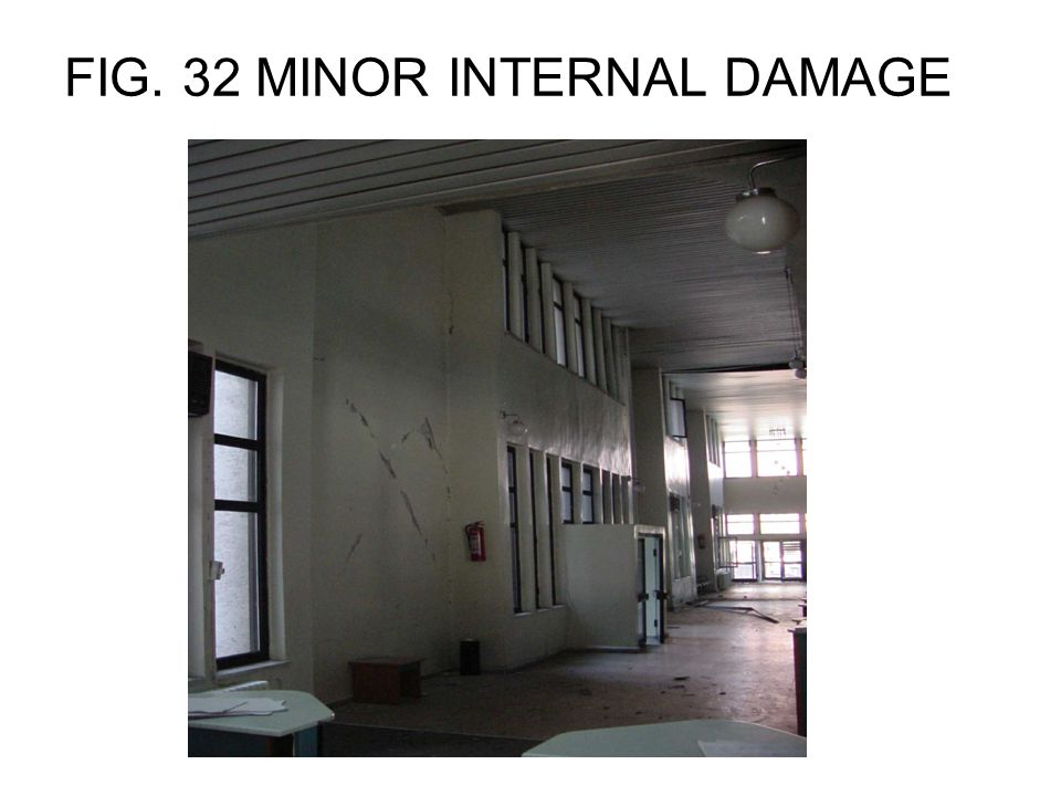 FIG. 32 MINOR INTERNAL DAMAGE