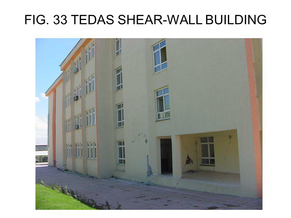 FIG. 33 TEDAS SHEAR-WALL BUILDING