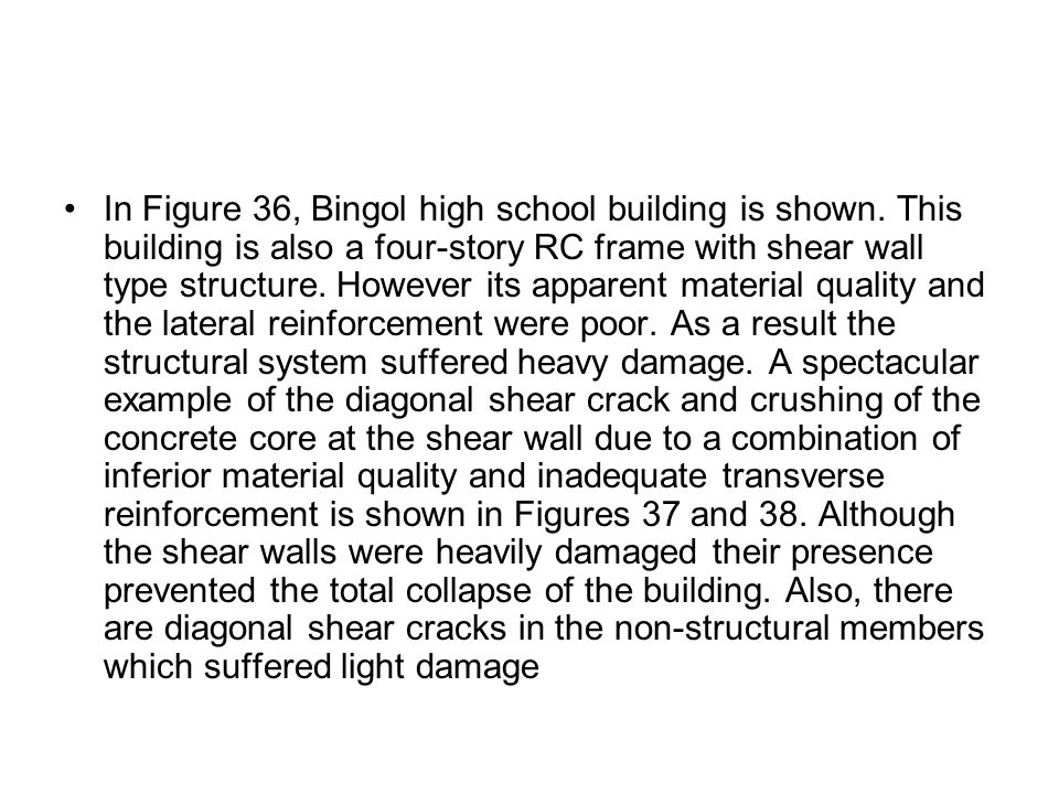 In Figure 36, Bingol high school building is shown