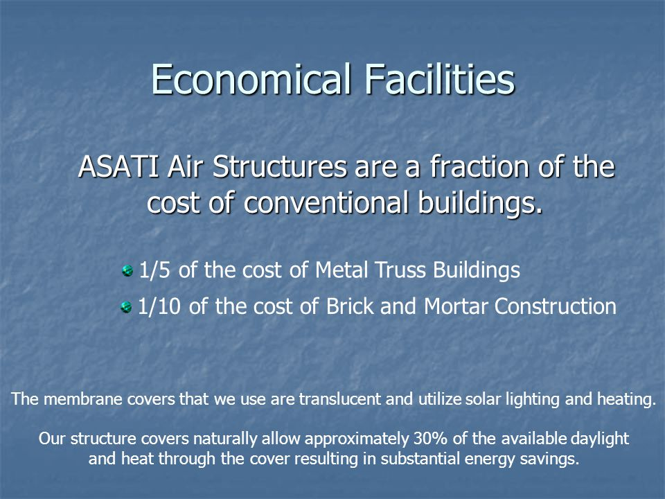 Economical Facilities