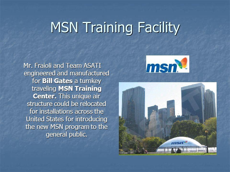 MSN Training Facility
