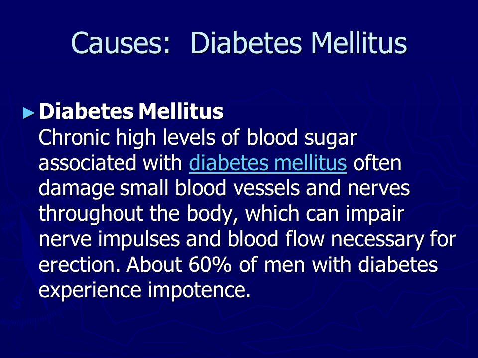 Causes: Diabetes Mellitus