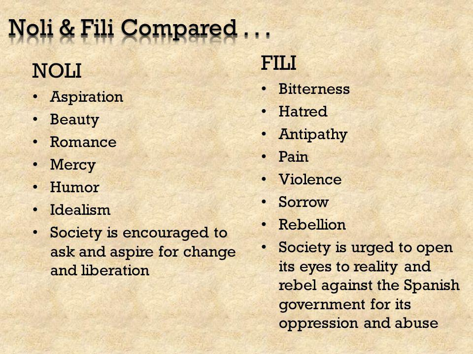 noli at el fili comparison Date: 26012012 author: asveha a comparison of noli and fili comparison of el filibusterismo and noli me tangere free essays 1 - 20 free essays on comparison of el filibusterismo and noli me tangere for students.