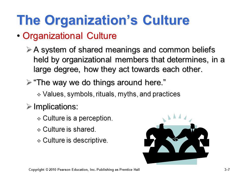 The Organization's Culture