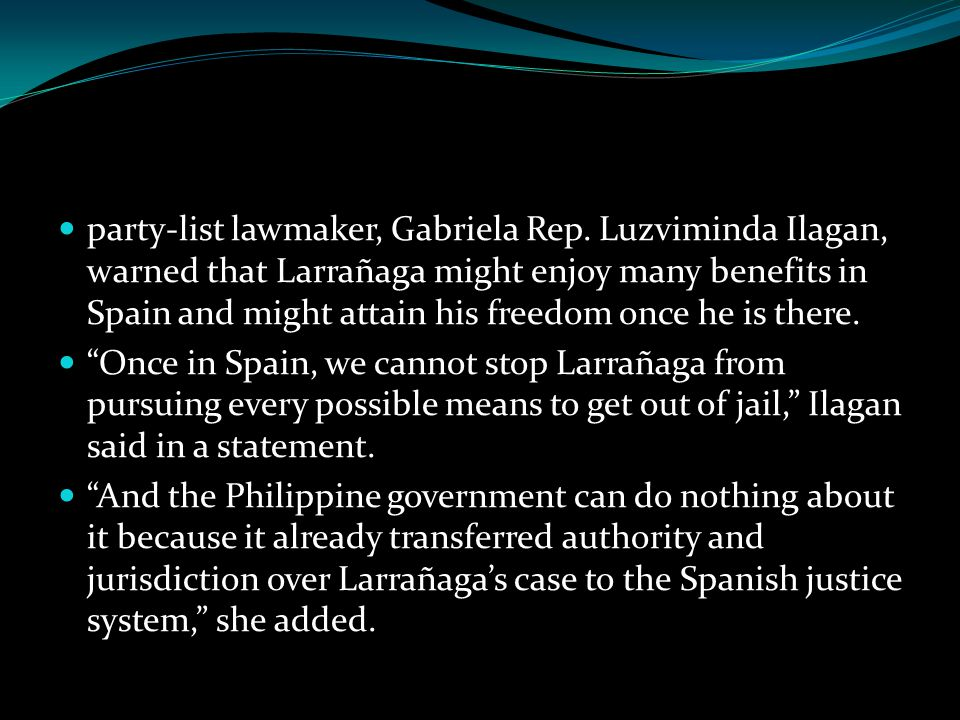 party-list lawmaker, Gabriela Rep