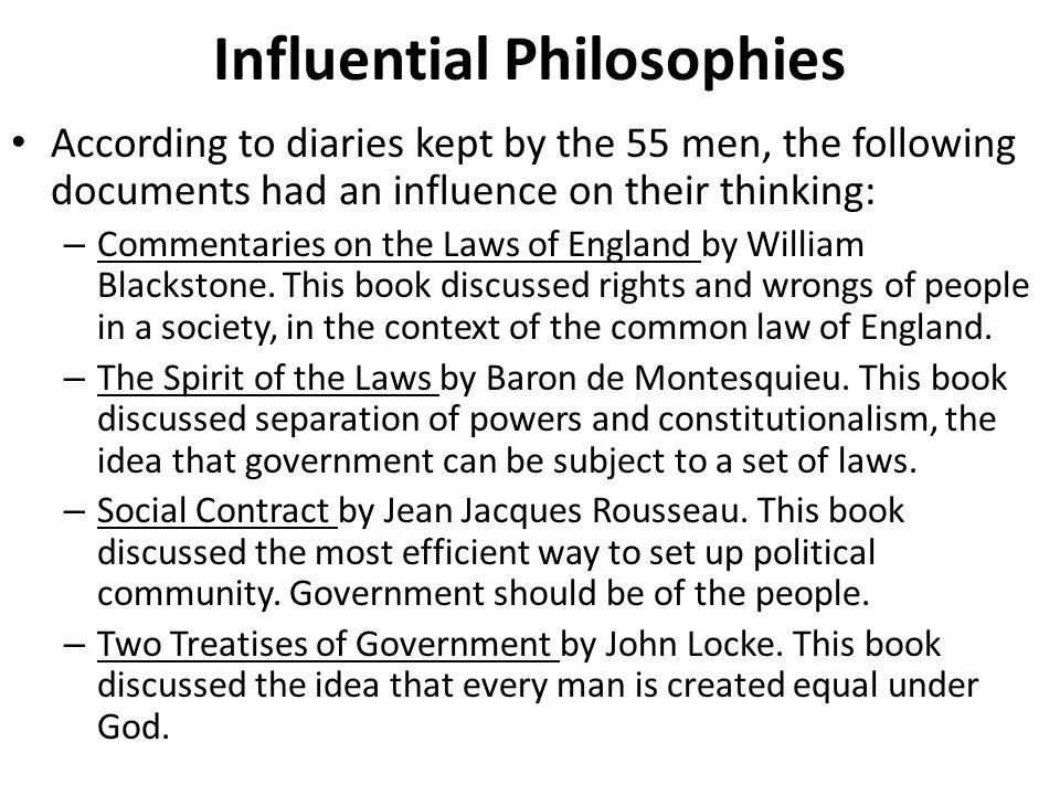 Influential Philosophies